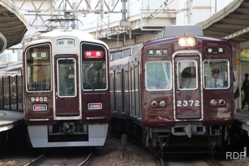 阪急電鉄2350形2372&9400形9402 [0001758]