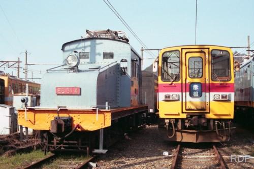 近江鉄道ED31 4&LE10形14