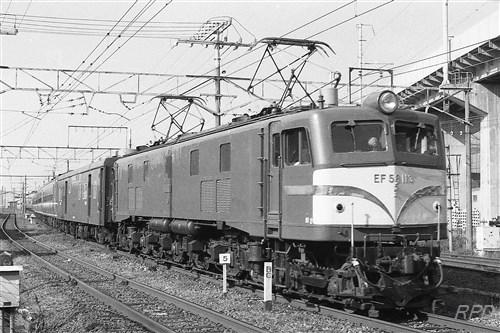 EF58 113 回客レ(きたぐに) [0001815]