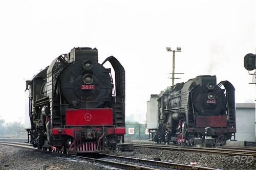 中国鉄路三茂線QJ3478&QJ6362 [0001816]