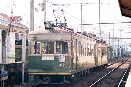 京福電鉄モボ124+ク202 [0001827]