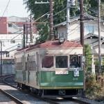 京福電鉄ク202+モボ124