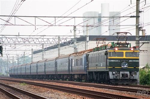 EF81 44+24系25形 日本海 [0001855]