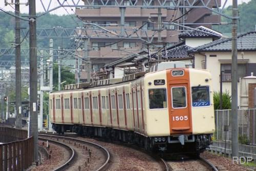 能勢電鉄1500系1505