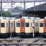 能勢電鉄1700系1757&1750&1754 旧塗色