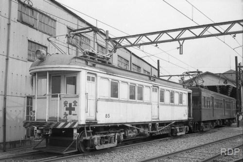 近鉄モワ80形85