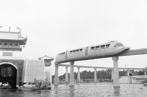 奈良ドリームランドモノレール・スペースライナー [5100809]