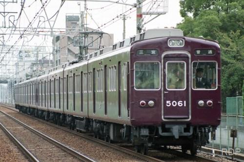 阪急電鉄神戸線5000系5061 未更新時代
