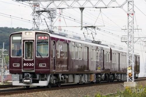 阪急電鉄8030+8150 試運転 [0002084]