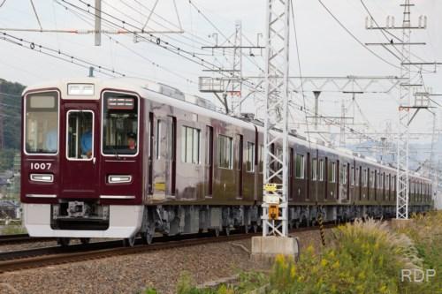阪急電鉄1000形1007 試運転 [0002085]
