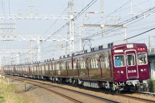 阪急電鉄5100形5108 試運転 [0002087]