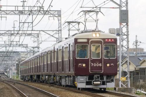 阪急電鉄7000形7006 試運転 [0002093]