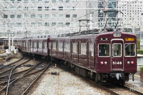 阪急電鉄宝塚線5100系5146 能勢電鉄譲渡前