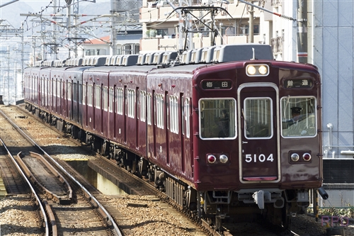 阪急電鉄宝塚線5100系5104
