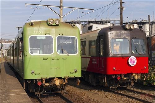 銚子電鉄デハ2001&デハ2002