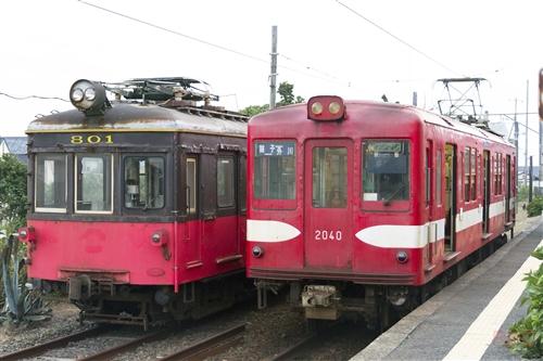 銚子電鉄デハ1002&デハ801