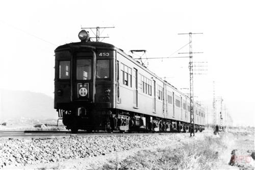 近鉄奈良線モ450形453