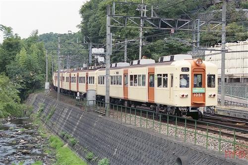 能勢電鉄1050形1051 ミレニアムトレイン