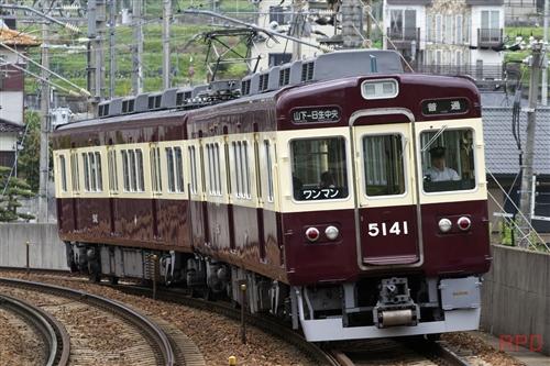 能勢電鉄5100形5141