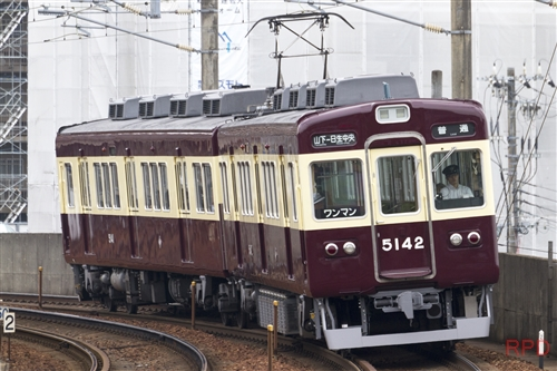 能勢電鉄5100系5142