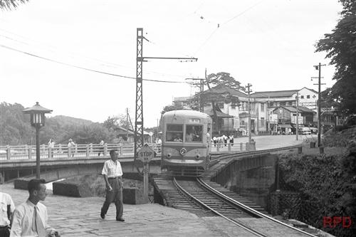 東武鉄道日光軌道線100形107 神橋