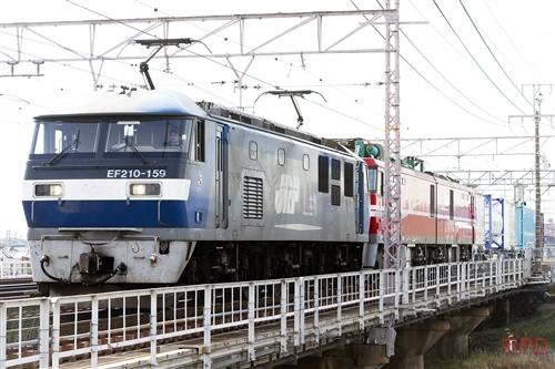 EF210-159+EH800-11+コキ107