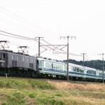 EF58 122+ユーロライナー