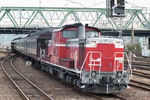 DD51 1116+レトロ12系 [0001776]