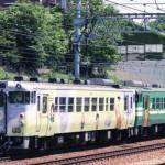 キハ40 2115 鬼太郎塗色+キハ40 2134 大阪駅展示回送
