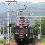 阪急電鉄嵐山線2800系2811