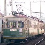 京福電鉄モボ124+ク202
