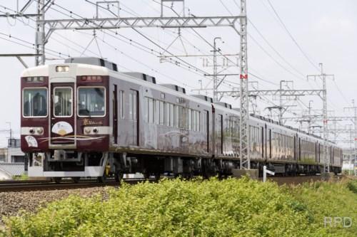 阪急電鉄6450形6454 京とれいん [0001927]