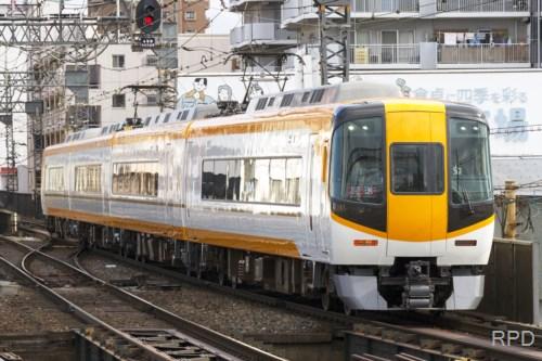 近鉄22000系 汎用特急 新塗色回送