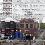 阪急電鉄1008F構内試運転&2300系2301