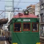 阪堺電軌モ161形161 初詣輸送
