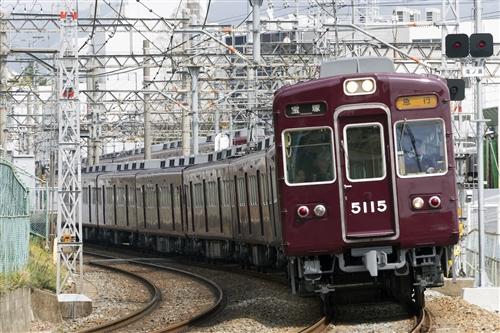 阪急電鉄宝塚線5100形5115 [0002211]