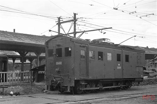東武鉄道日光線ED4001 日光車両区