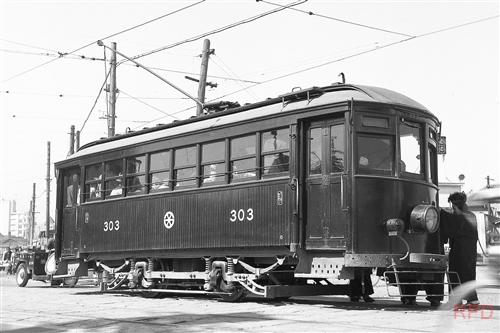 西鉄北方線300形303