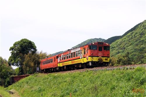 山口線キハ40 2072+キハ40 2004