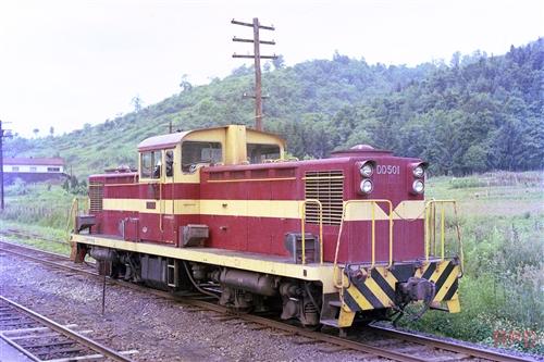 三井芦別鉄道DD501