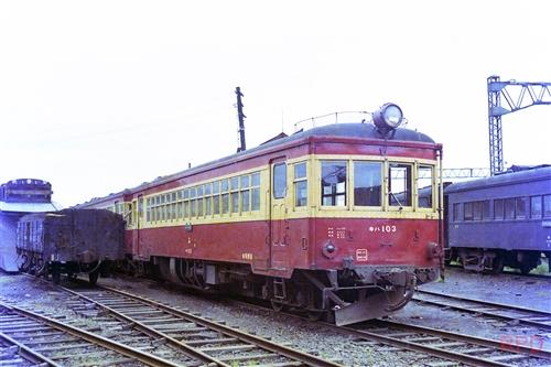 美唄鉄道キハ103