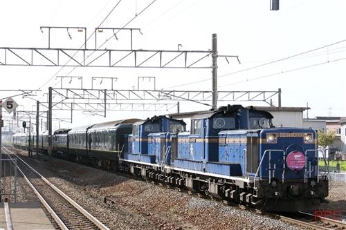 DD51 1093+DD51+25形 トワイライトエクスプレス
