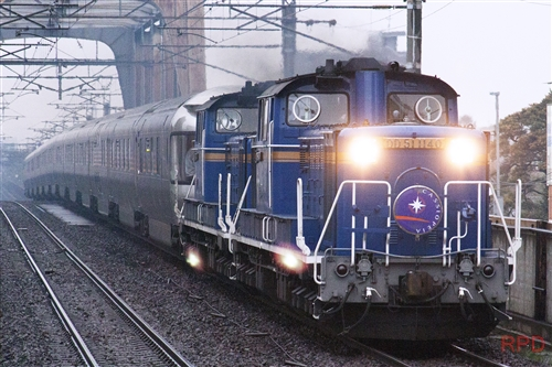 DD51 1140+DD51+E26系 カシオペア