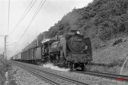 D51 643 鹿児島本線貨レ